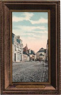 29 QUIMPERLE - Rue Du Château, La Caisse D'Epargne, L'ancienne Et Nouvelle Eglise - Quimperlé