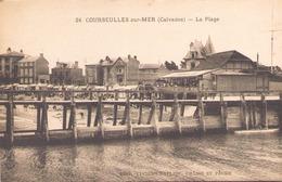 COURSEULLES SUR MER LA PLAGE - Courseulles-sur-Mer