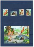 TIMBRES SERIE NATURE DE FRANCE (XVI)   ++  AVEC BLOC ++  ET  COMMENTAIRES  ++  ANNEE 2001 - Storia Postale (Francobolli Sciolti)