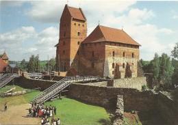 LIETUVA   --TRAKAI INSULAR CASTLE - Letonia