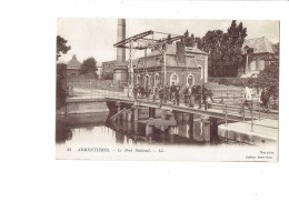 Cpa - 59 - ARMENTIERES / PONT NATIONAL - Animation - N°45 LL - Publicité AMER PICON - Armentieres
