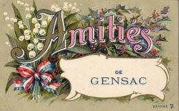 D33  AMITIÉS DE GENSAC  ........ - Francia