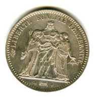 5 Francs  HERCULE Gouv. De Défense Nationale 3e République 1867A - J. 5 Francs