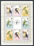 Belize - 1986 Toucans Kleinbogen MNH__(THB-4099) - Belize (1973-...)