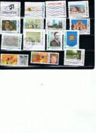 FRANCE Personnalisés Mon Timbre à Moi Lot De 15 Timbres (o) Prix 13,50 Euros - Gepersonaliseerde Postzegels (MonTimbraMoi)