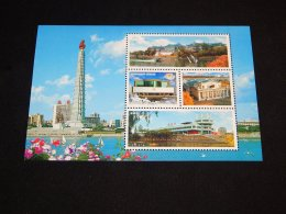 Korea - 2009 Monumental Block MNH__(THB-1472) - Korea (Noord)