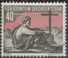 Liechtenstein 1955 Nº 299 Usado - Liechtenstein