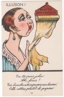 Cpa Fantaisie, Illusion ! ( Papier Hygiénique ), Humour, Scatologie ( FA ) - Femmes