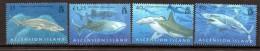 2008 Ascension Sharks  Complete Set Of 4  MNH - Ascension (Ile De L')