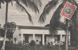 Cuban Country House  - Scan Recto-verso - Cuba