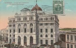 Habana  Lonja Del Comercio - Produce Exchange  - Scan Recto-verso - Cuba
