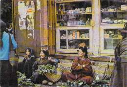 INDE India Indien Indië - LADAKH  : Marchande De Légumes - Vegetable Vendors - Ladakhi Women At Work - CPSM GF - India