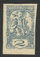 Yugoslavia, 2 F. 1920, Sc # 3LP10, Mi # 113II, MH - Zeitungsmarken