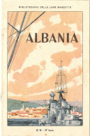 "BIBLIOTECHINA DELLE LANE MARZOTTO - ""ALBANIA "" N. 6 - III SERIE - Documents Historiques"