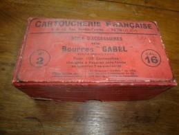 Article Pour CARTOUCHERIE : Boite D'accessoires Avec Bourres GABEL    N° 2   Calibre 16 - Autres Collections