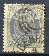 DK Yv. N° 16, Mi 16 I Aa Dent 14   (o)  2s  Gris Et Outremer  Cote 30 Euro BE   2 Scans - 1864-04 (Christian IX)