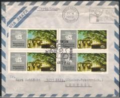 ARGENTINIEN 1972 - Luftpost Rekobrief Mit  ET SStmp. MiNr: 1135 4x - Argentinien