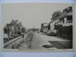 CPA 49 Chenehutte-les-Tuffeaux - La Mimerolle - Vue Avec Automobile Traction Citroën  à Voir ! - Francia