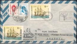 ARGENTINIEN 1975 - Luftpost Brief Mit  ET SStmp. MiNr: 1239 2x + 1225+1228 - Argentinien