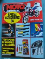 MOTO JOURNAL SPECIAL ACCESSOIRES 1986 - Auto/Moto