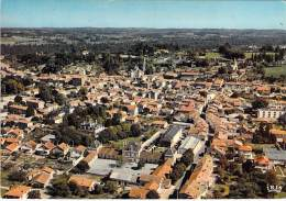 24 - RIBERAC  : Vue Générale Aérienne - CPSM Grand Format - Dordogne - Riberac