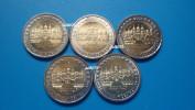 2 Euro Commemorative Allemagne 2007 Mecklembourg-Pommeranie Les 5 Ateliers ADFGJ  PIECES NEUVES UNC - Germany