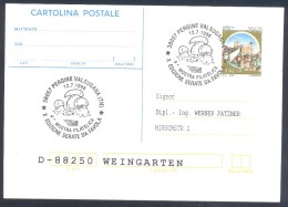 Italia 1996 Card: Flora Champignons Funghi Fungus Mushroom Pilz Seta; - Pilze