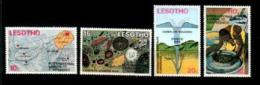 LESOTHO, 1973, Mint Never Hinged Stamp(s) Kimberlite Conference, MI Nrs. 147-150, #1047 - Lesotho (1966-...)