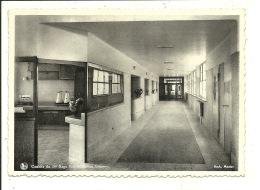 LA HESTRE - MANAGE. INSTITUT MEDICAL DES MUTUALITES SOCIALISTES.  Couloir Du 1 Er étage Hospitalisation Hommes - Manage