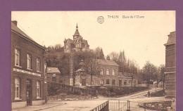 Thuin Gare De L'ouest Statie ,edit Albert,la Carte A Circuleen 1925 - Non Classés