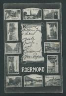 Pays Bas. Limbourg.  Roermond. Belle Carte Multivues.  2 Scans. - Roermond