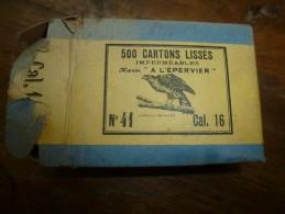 Article Pour CARTOUCHERIE : Boite De Croisillons , Marque  A L'EPERVIER   N° 41, Calibre 16 - Autres Collections