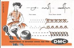 Buvard Apprenez à Broder Avec Les Fils DMC.  (Broderie) - Textile & Vestimentaire
