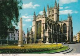 England Bath Abbey From Orange Grove - Bath