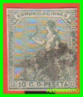 ESPAÑA  ( EUROPA )      ALEGORIA AÑO 1873  I REPUBLICA - 1873-74 Regencia