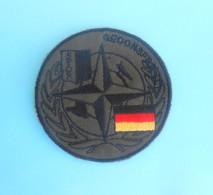 GERMANY ARMY - SFOR - United Nations Peacekeeping Mission In Bosnia Patch Deutschland Armee Flicken Bundeswehr UN Forces - Stoffabzeichen