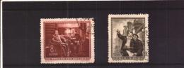China Chine Cina PRC Used Stamps Full Set  1955    Russia Relationship       SEE SCAN - 1949 - ... People's Republic