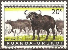 Ruanda Urundi - 1959 - Buffles - YT 206 Neuf Sans Charnière - MNH - Ruanda-Urundi