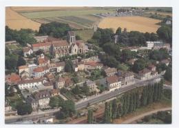 95 - AUVERS SUR OISE--VUE AERIENNE --RECTO/VERSO--C53 - Auvers Sur Oise