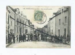 CPA  - Herbignac  - Rue De La Chapelle - Herbignac