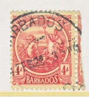 Barbados 163   (o)   Wmk 3  1921-24 Issue - Barbados (...-1966)