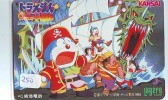 DORAEMON * Carte Prépayée Japon * MANGA * Chat Robot (250) Cinéma Animé  CAT Japan PHONECARD * MOVIE FILM * TELEFONKARTE - Film