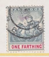 Barbados 90   (o)  Wmk 3  1904-10 Issue - Barbados (...-1966)