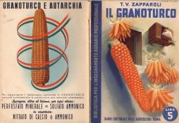"""06101 """" T. V. ZAPPAROLI - IL GRANOTURCO - RAMO EDIT. DEGLI AGRICOLT. - ROMA - 1939 XVII"""" ORIGINALE - Books, Magazines, Comics"""