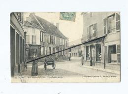 CPA Décollée, Abîmée  - Wassy  -  Rue Général Gresley  - La Gendarmerie - Wassy