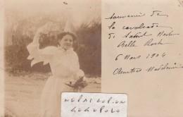 SAINT MARTIN BELLE ROCHE - La Cavalcade Du 6 Mars 1904 - Carte -photo ( Très Rare ) - France