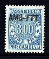 Tassa Di Bollo   Lire 3   ** Gomma Integra - 7. Triest