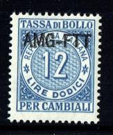 Tassa Di Bollo   Lire   12   ** Gomma Integra - 7. Triest