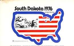 Amateur Radio QSL - WB0DGA - Jefferson, SD -USA- 1974 - 2 Scans - Radio Amateur