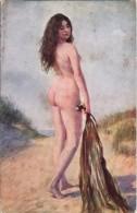 CARRIER-BELLEUSE: Les Algues [nu Femme CPA Lapina ] BG066 - Tableaux